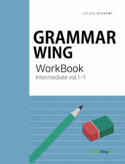 Grammar Wing Intermediate vol. 1  work book