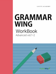 Grammar Wing Advanced vol. 1  work book 2