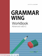 Grammar Wing Advanced vol. 5  work book 2