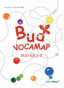 Junior Voca Map Bud B/E3 2
