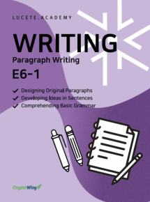 Junior Wing for your Writing Paragraph 3 Vol. 1