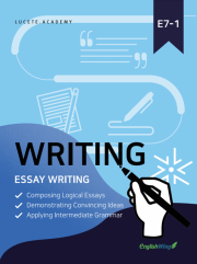 Junior Wing for you Writing Essay 1 Vol. 1