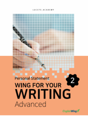 Wing for your Writing Advanced Personal Statement Vol. 2